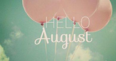 Hello August Wallpaper