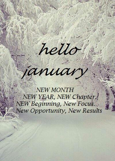 Hello January Wishes