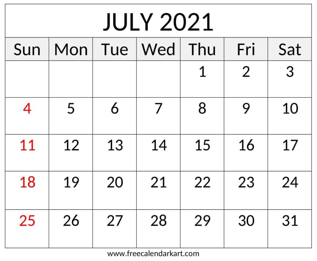 Printable Yearly 2021 Calendar And Holiday Template Free Download